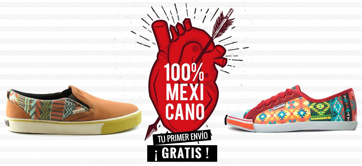 compra calzado 100% mexicano